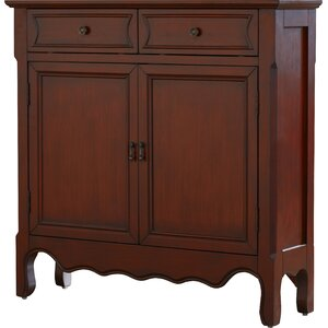 Bayonne 2 Drawer 2 Door Accent Cabinet