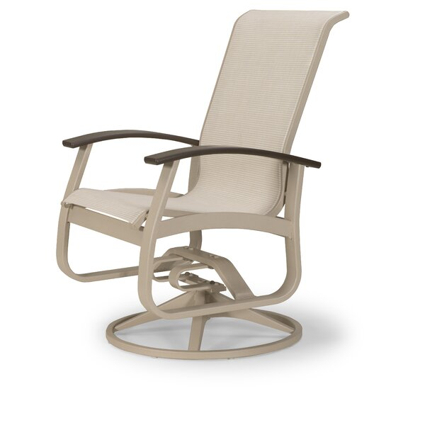 Belle Isle Swivel Patio Dining Chair (Set of 2) by Telescope Casual
