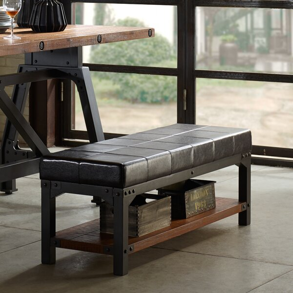 Caseareo Metal Storage Bench by Trent Austin Design