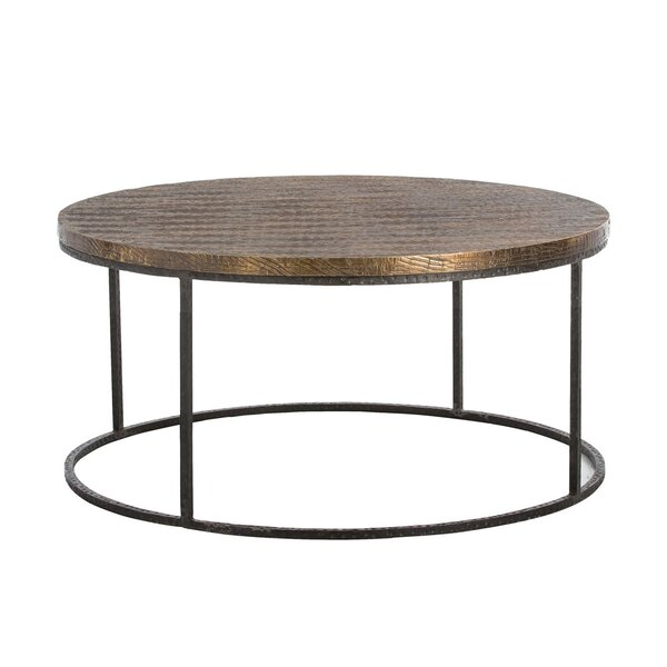 Nixon Solid Wood Frame Coffee Table By ARTERIORS
