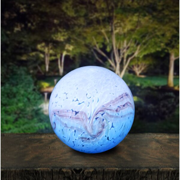 Art Glass Hand-crafted Gazing Globe by OutDoozie