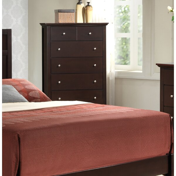 #1 Maeve 5 Drawer Chest By Charlton Home Cool