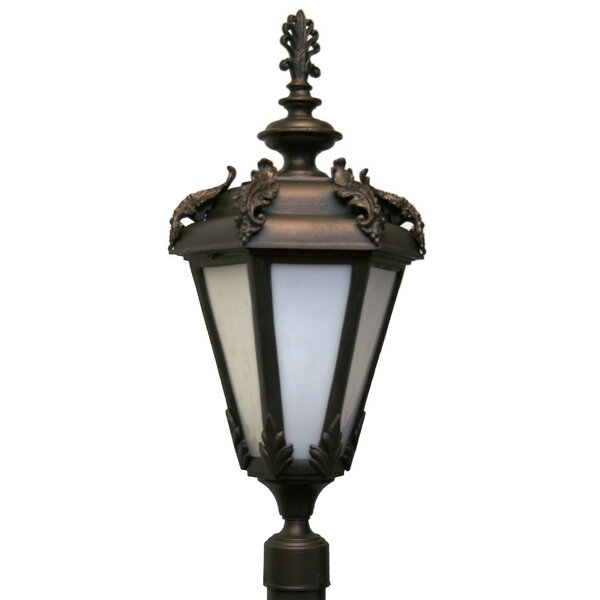 Petrey 3 Light 30 Post Lantern by Alcott Hill
