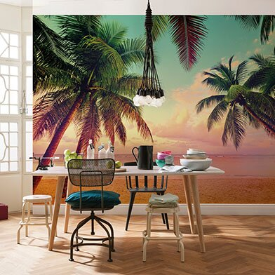 Komar Miami Wall Mural by Brewster Home Fashions