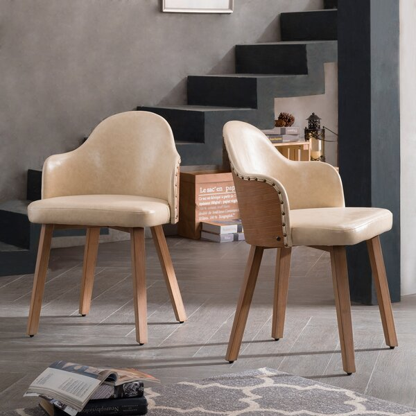 Nick Bamboo Side Chair (Set of 2) by Mistana