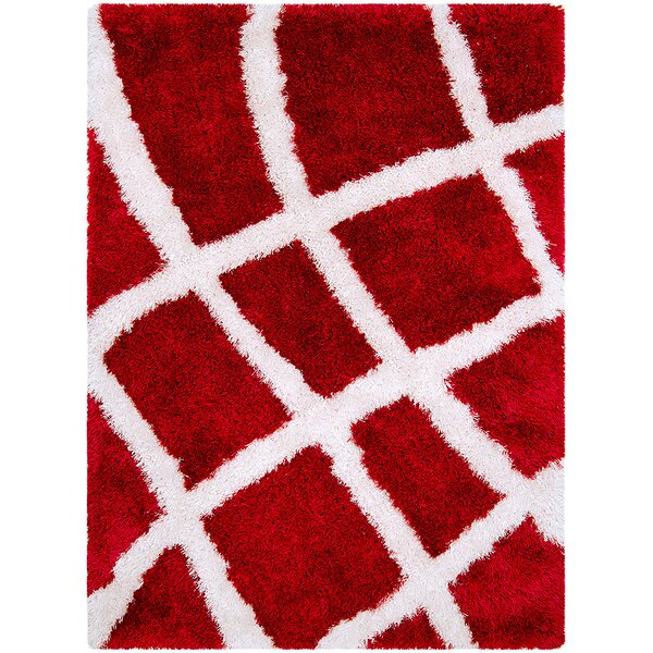 Red Area Rug by AllStar Rugs
