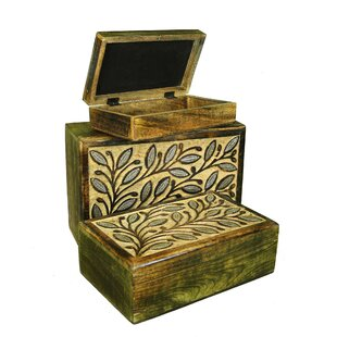 Bargain 3 Piece Jewelry Box Set By August Grove