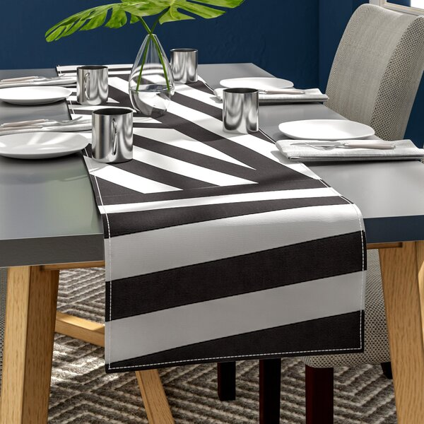 Louise Machado Stripes Table Runner by East Urban Home