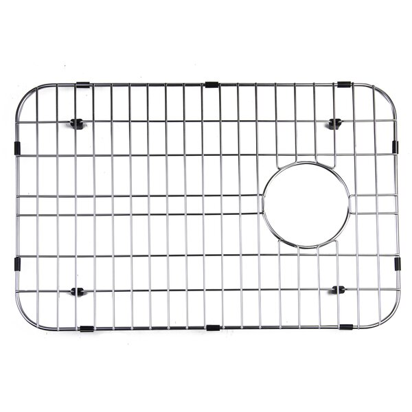 Large Solid Stainless Steel Kitchen Sink Grid by Alfi Brand