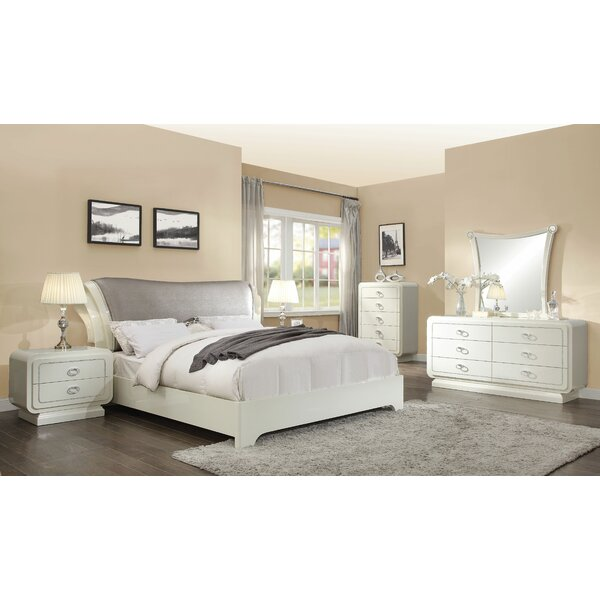 Gilleland Sleigh Configurable Bedroom Set by Everly Quinn