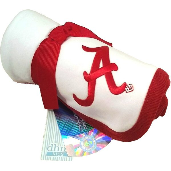 Alabama Crimson Tide Baby Receiving Blanket by Future Tailgater