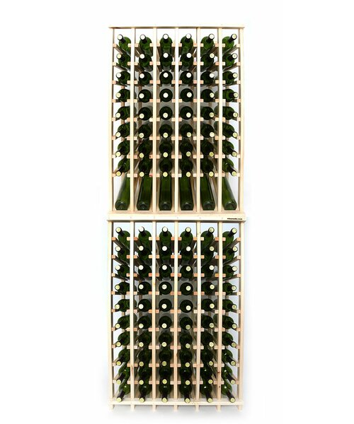Lurmont Series 120 Bottle Floor Wine Bottle Rack by Rebrilliant Rebrilliant