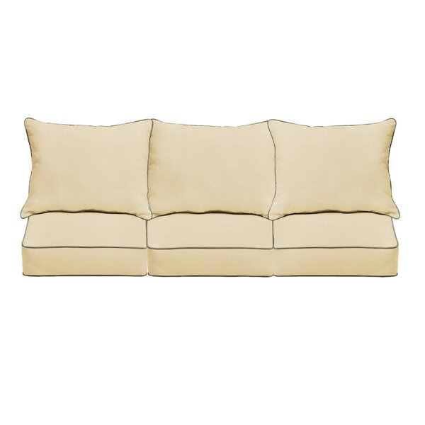 Sofa With Contrasting Piping Wayfair