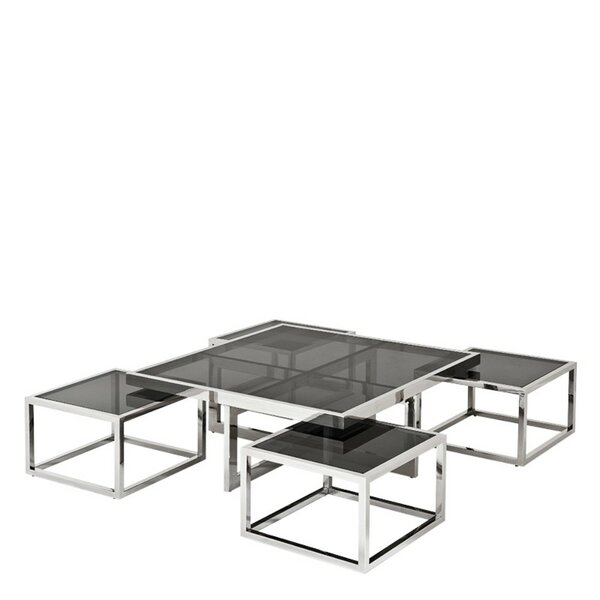 Home & Outdoor 5 Piece Coffee Table Set