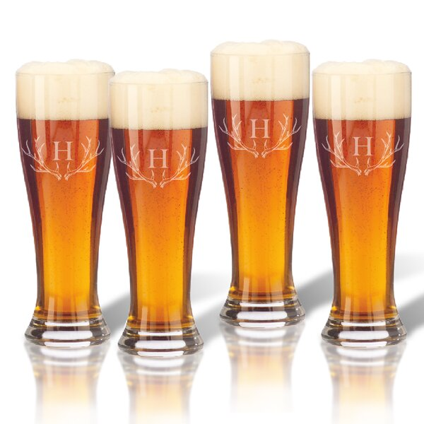 Maximo 16 oz. Pilsner Glass (Set of 4) by Union Rustic