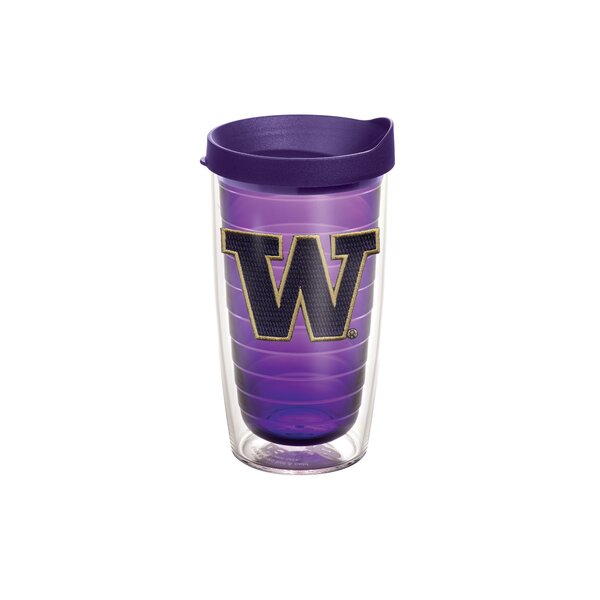 Collegiate N-Z Washington Amethyst 16 Oz. Tumbler by Tervis Tumbler