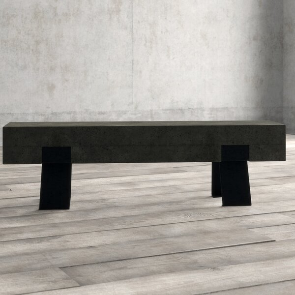 Ranchester Industrial Metal Kitchen Bench by Greyleigh Greyleigh