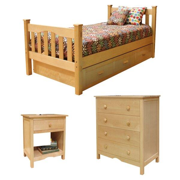 Velda Twin Slat Configurable Bedroom Set by Harriet Bee