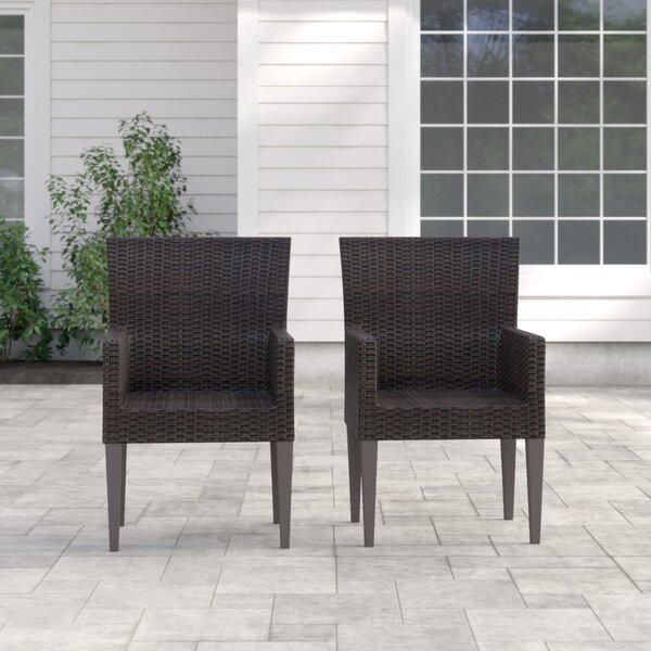 Camak Dining Chair (Set of 2) by Sol 72 Outdoor Sol 72 Outdoor