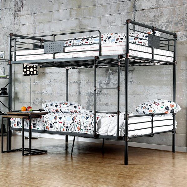 Garlington Full over Full Bunk Bed by Harriet Bee