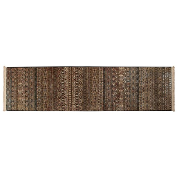 Aree Power Loom Brown Rug