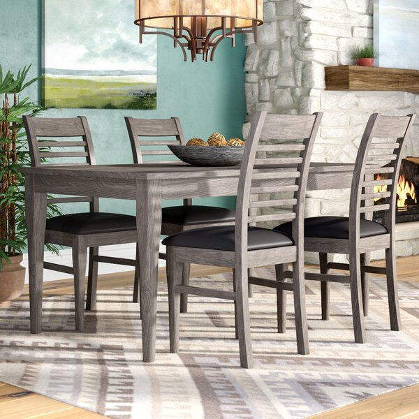 Alguno 5 Piece Dining Set by Loon Peak