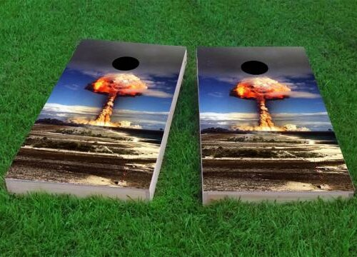 Explosion Cornhole Game (Set of 2) by Custom Cornhole Boards