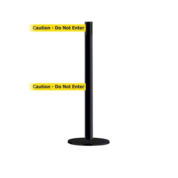 Dual Line Advance Tensabarrier Basics Base in Pre-Printed Caution Do Not Enter Belt by Tensator