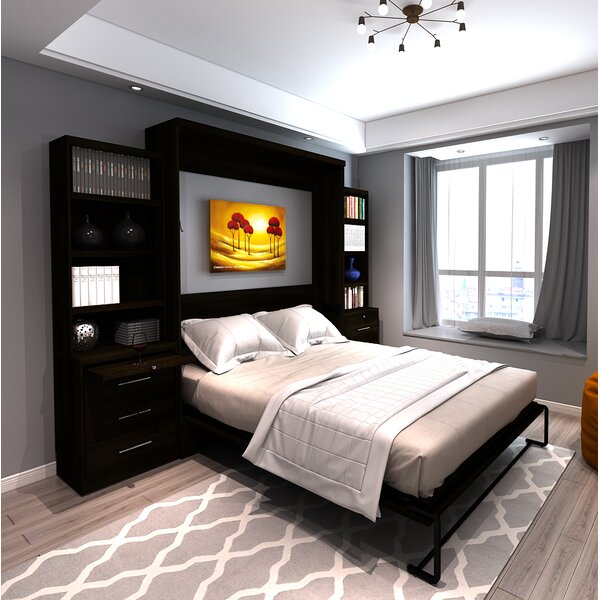 Munn Queen Murphy Bed by Brayden Studio Brayden Studio