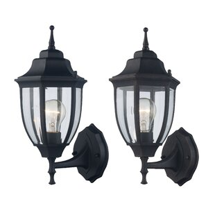Deals Sellman Outdoor Sconce (Set of 2) By Charlton Home