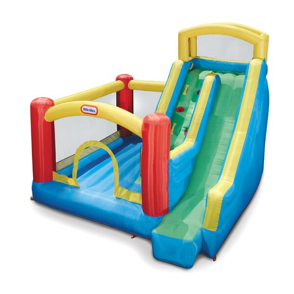 Giant Slide Bounce House by Little Tikes
