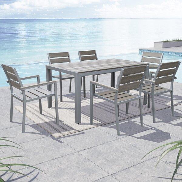 Allen 7 Piece Dining Set by Beachcrest Home