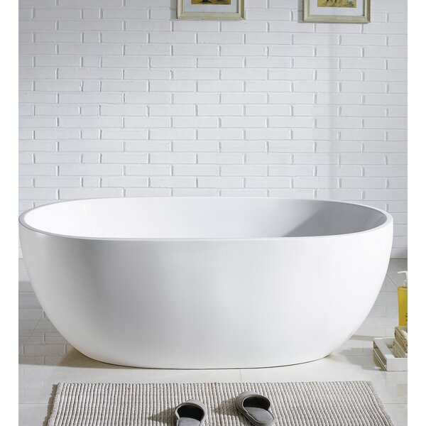 Stella Freestanding Soaking Bathtub by Eviva