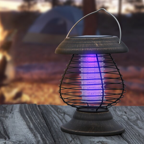 Solar Power LED Lantern and Mosquito Zapper by wak