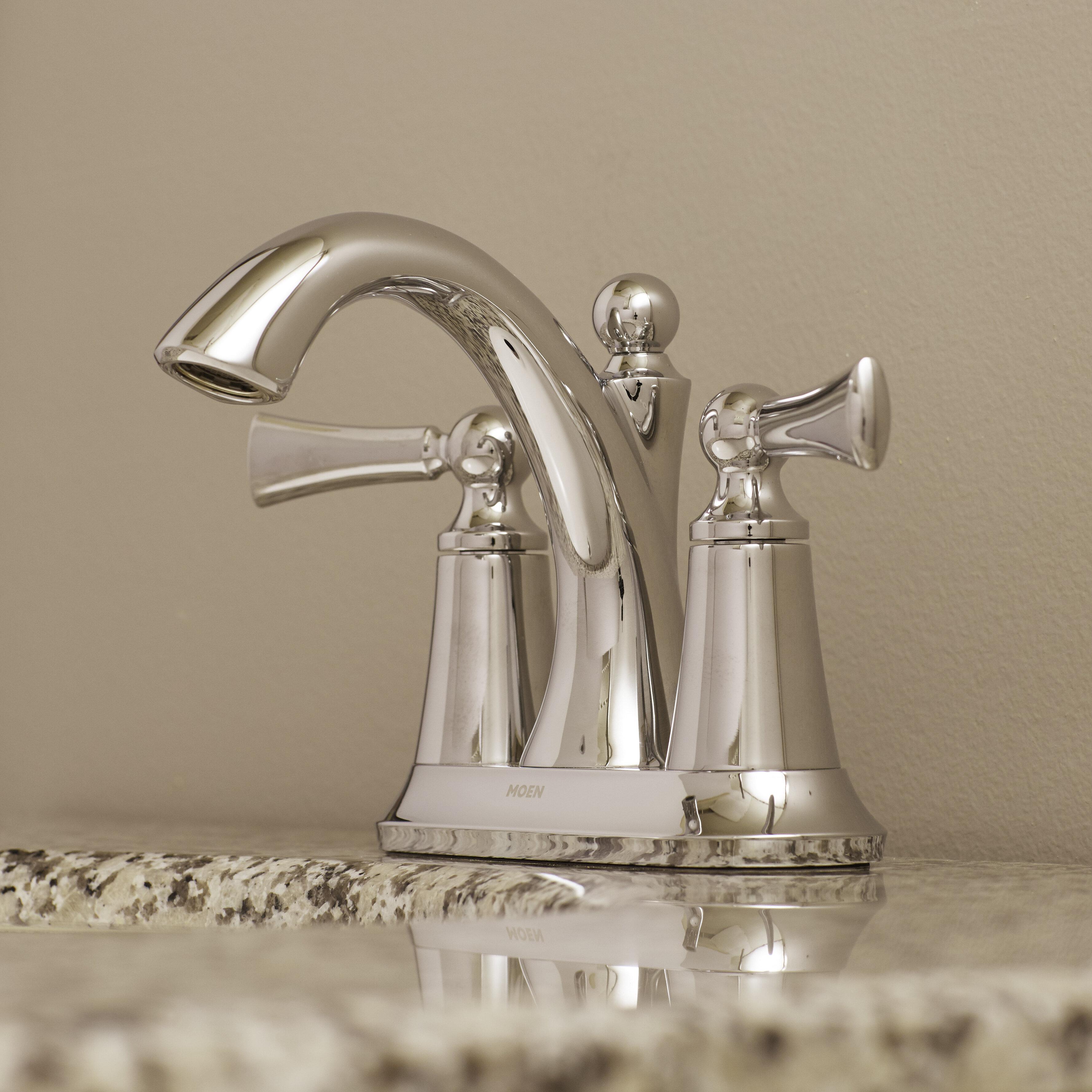 Moen Wynford Centerset Faucet & Reviews | Wayfair