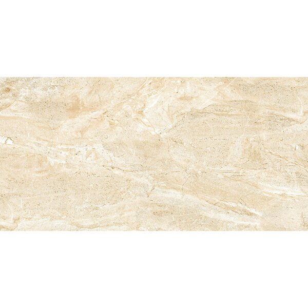Thin Porcelain 11.8 x 23.6 Porcelain Field Tile in Mediterranean Beige by Abolos
