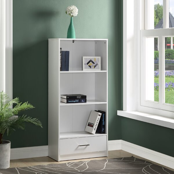 Raemon Wood Standard Bookcase By Ebern Designs