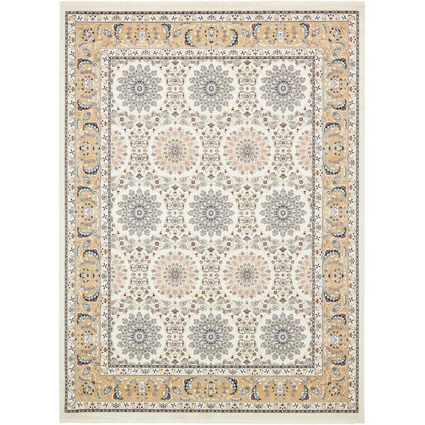 Jackson Ivory Area Rug by Astoria Grand