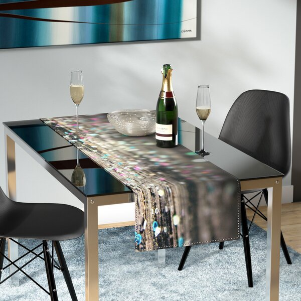 Beth Engel After Party Table Runner by East Urban Home