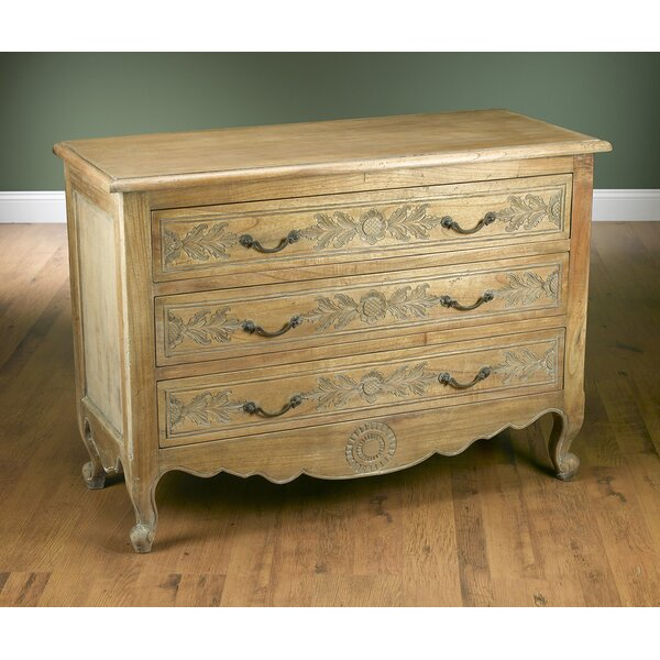 3 Drawer Standard Dresser by AA Importing
