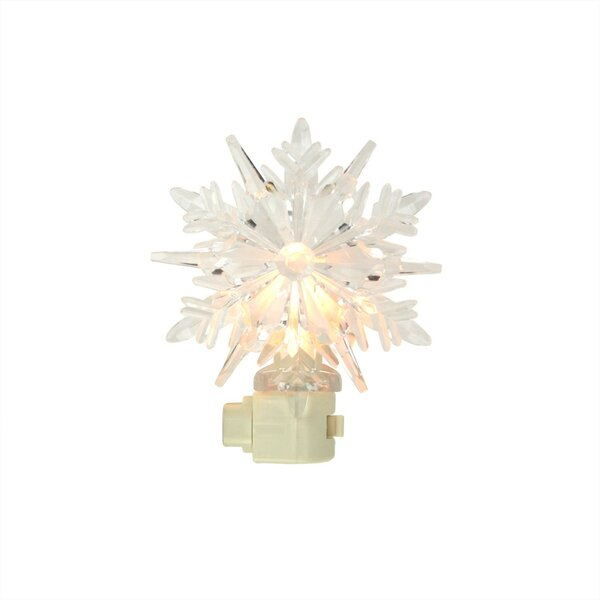 Fitzgerald Decorative Snowflake Christmas Night Light by The Holiday Aisle