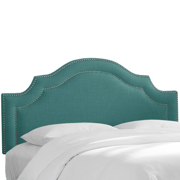 Vicente Arch Upholstered Panel Headboard by Red Barrel Studio