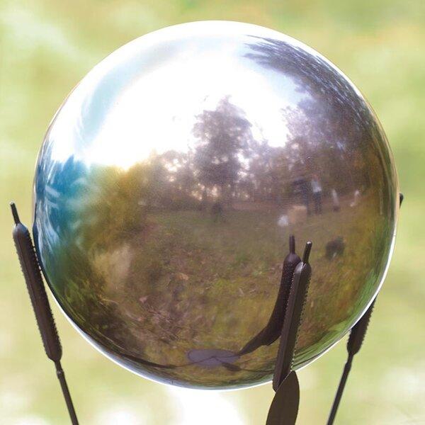 Rainbow Gazing Ball by Wind & Weather