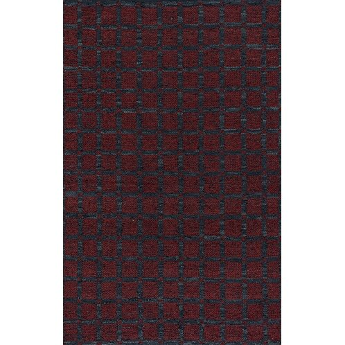 Lee-Abele Red/Black Area Rug by Red Barrel Studio