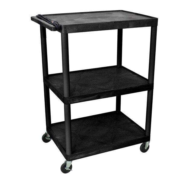 48 AV Cart with 3 Shelves by Offex
