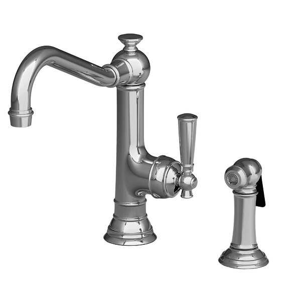 Jacobean Single Handle Kitchen Faucet by Newport Brass