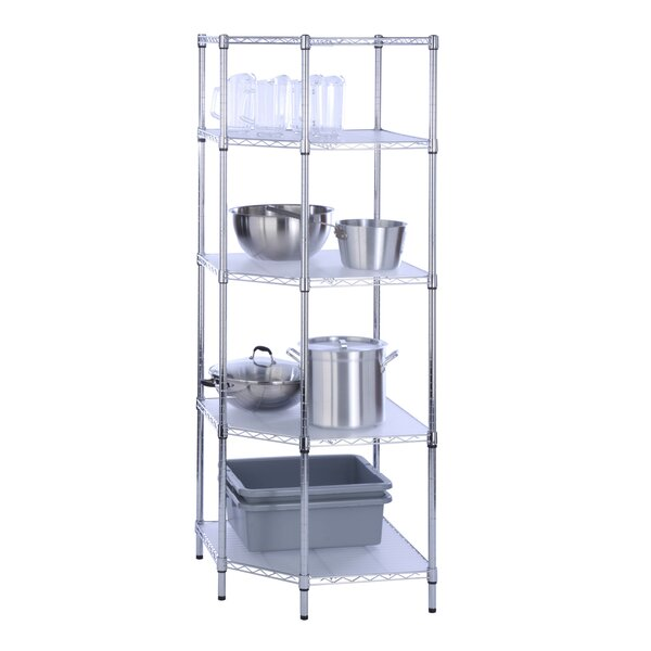 72 H Four Shelf Shelving Unit by Honey Can Do