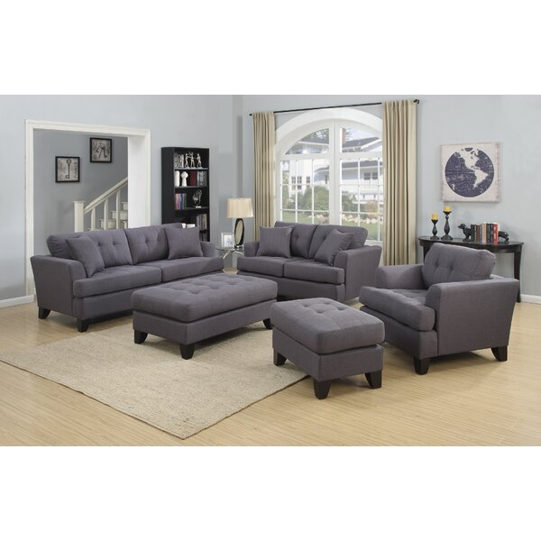 Heger Contemporary Tufted Living Room Set by Alcott Hill