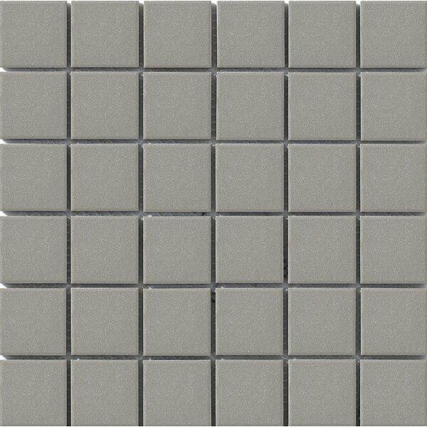 Urban 2 x 2 Porcelain Mosaic Tile in Grey by Walkon Tile