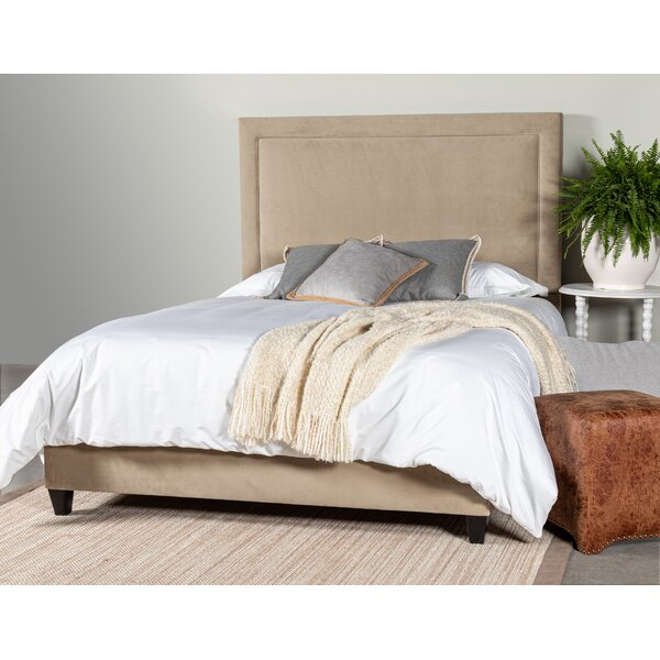 Gothenburg Upholstered Standard Bed by Alcott Hill